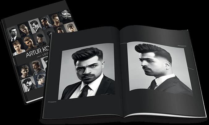 Альбом работ для барберов и парикмахеров Артур Коханюк Artur Kokhanyuk